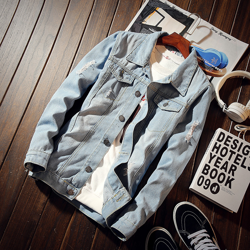 Spring Jacket, Jeans, Men's Co...