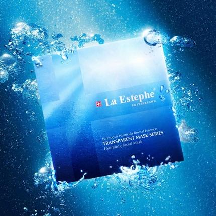 LaEstephe瑞斯美瑞士进口深海水母精华面膜女补水保湿男清洁免洗