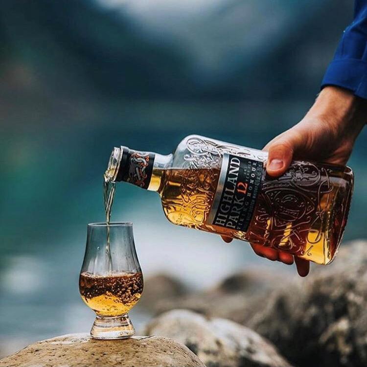 骑士荣誉12年单一麦芽威士忌HighlandPark维京高原/荣耀700ml