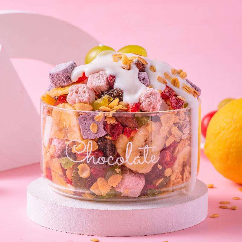 【冠生趣】水果酸奶燕麦片500g