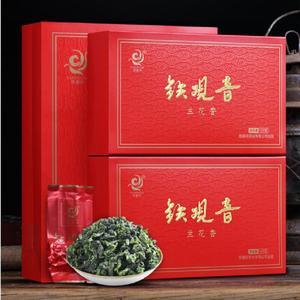 买一送三铁观音茶叶浓香型安溪新茶小包装乌龙茶散装礼盒装共500g