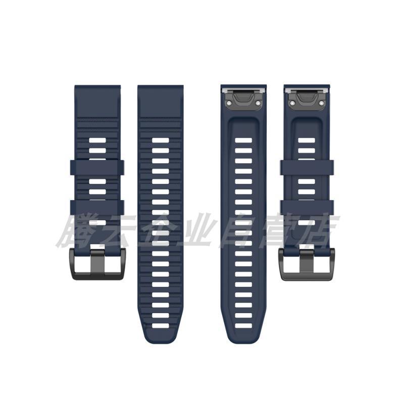 限時優惠 清風數碼 Garmin 佳明  Fenix5 手錶帶 硅膠腕帶 Fenix5plus 運動型 替換腕帶 智能手錶帶