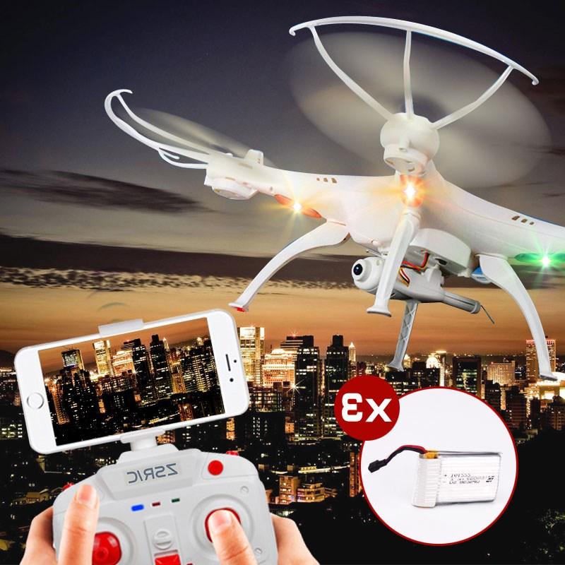 Drone máy bay đồ chơi máy bay bốn trục áp suất không khí cố định chiều cao máy bay HD điện thoại di động thời gian thực mô hình máy bay không - Mô hình máy bay / Xe & mô hình tàu / Người lính mô hình / Drone