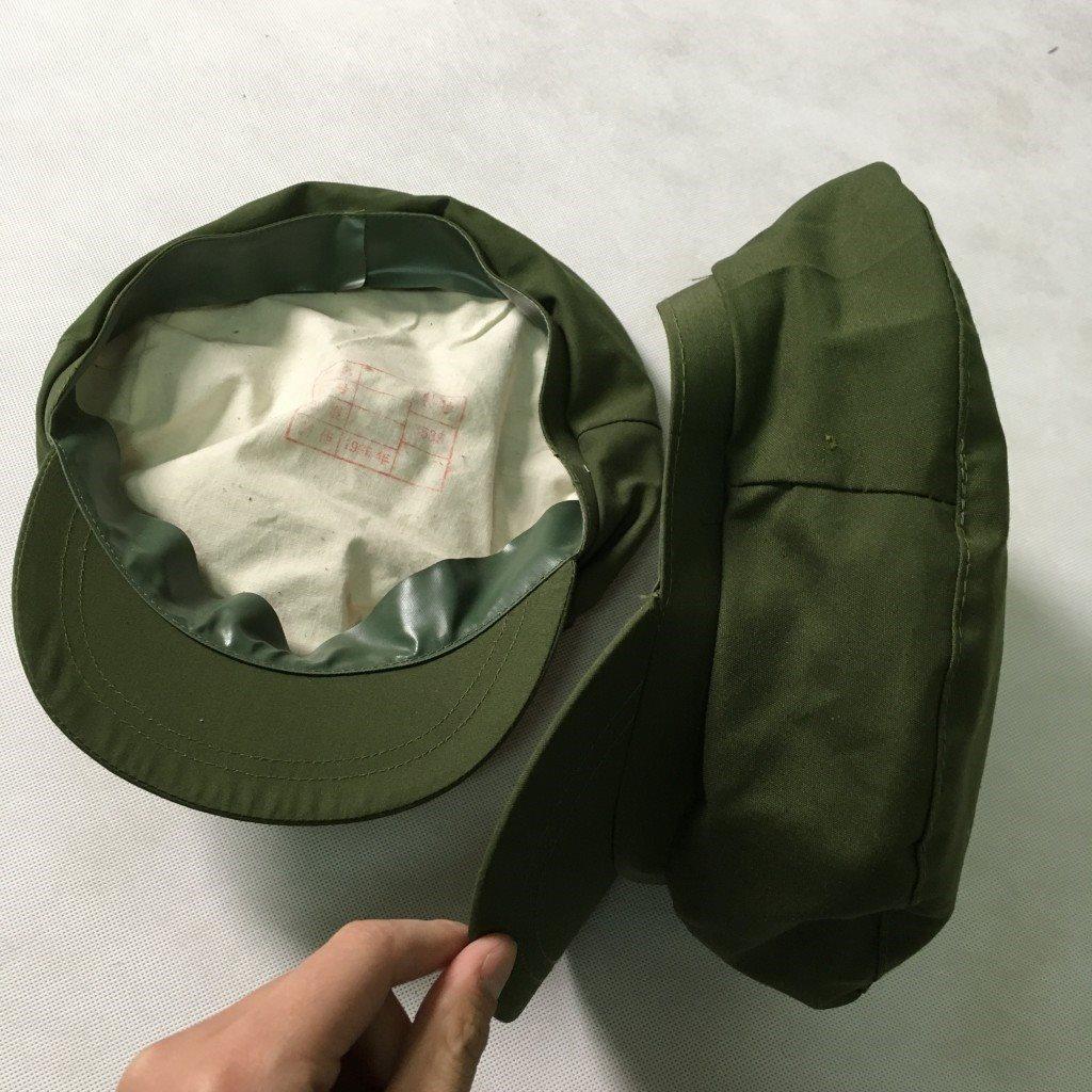 文革老款军绿色老式老老兵的确良军帽帽涤良v文革帽帽子涤良解