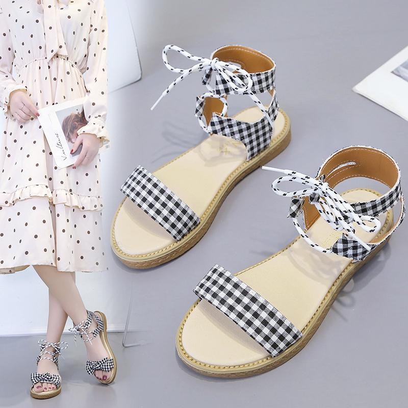 涼鞋女仙女風2019夏季新款韓版
