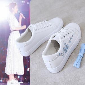 真皮网红爆款小白鞋女运动鞋休闲鞋板鞋