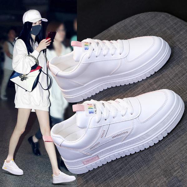 网红小白鞋女超火ins潮鞋时尚百搭运动鞋