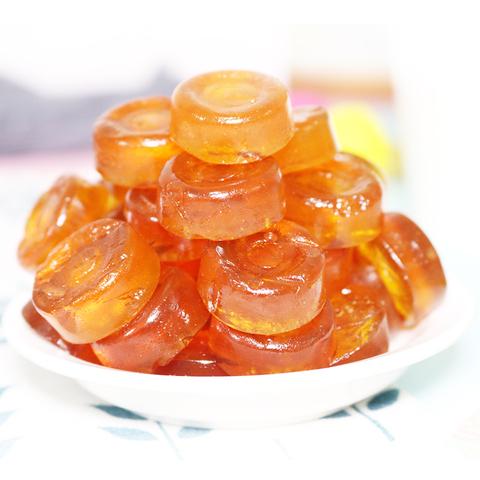 贵州特产黔康散装刺梨果糕500g贵阳特色小吃正宗零食美食刺梨软糕