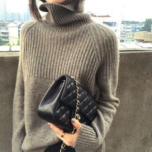 【恒源祥】慵懒加厚100%羊绒衫