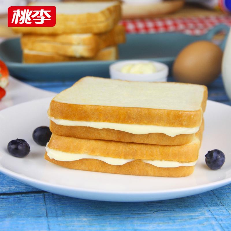 桃李 轻芯吐司面包 600g 双重优惠折后¥19.9包邮