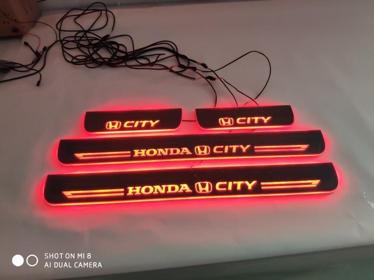 Ốp bậc cừa có đèn Led Honda City 2015-2018 - ảnh 7