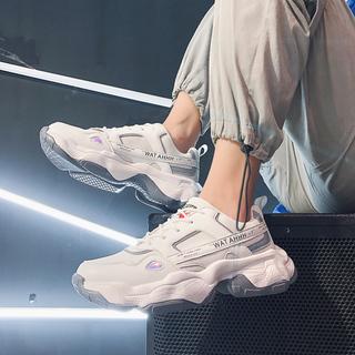 Демисезонные ботинки,  Обувь мужчина обувь 2020 новый человек обувной кондиционер тенденция дикий старый отец обувь обувь спортивный досуг обувной, цена 822 руб