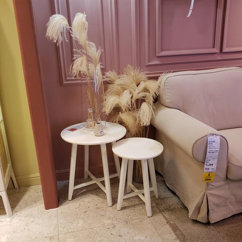 Warm And Ikea Klasta Set Table 2 Piece Coffee Dining Round Small