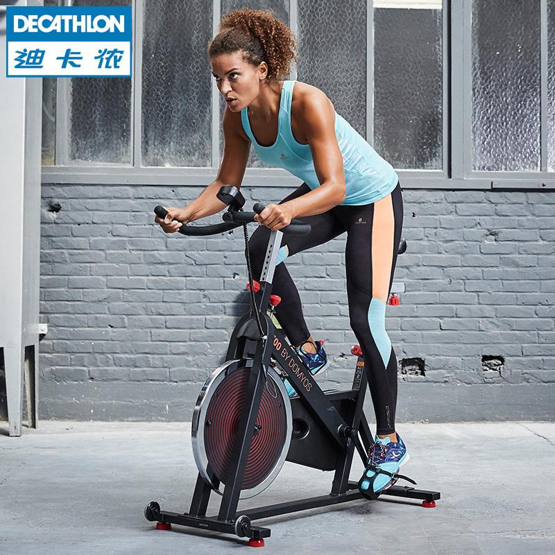 迪卡儂 家用動感單車靜音塑型健身腳踏車FIC QC