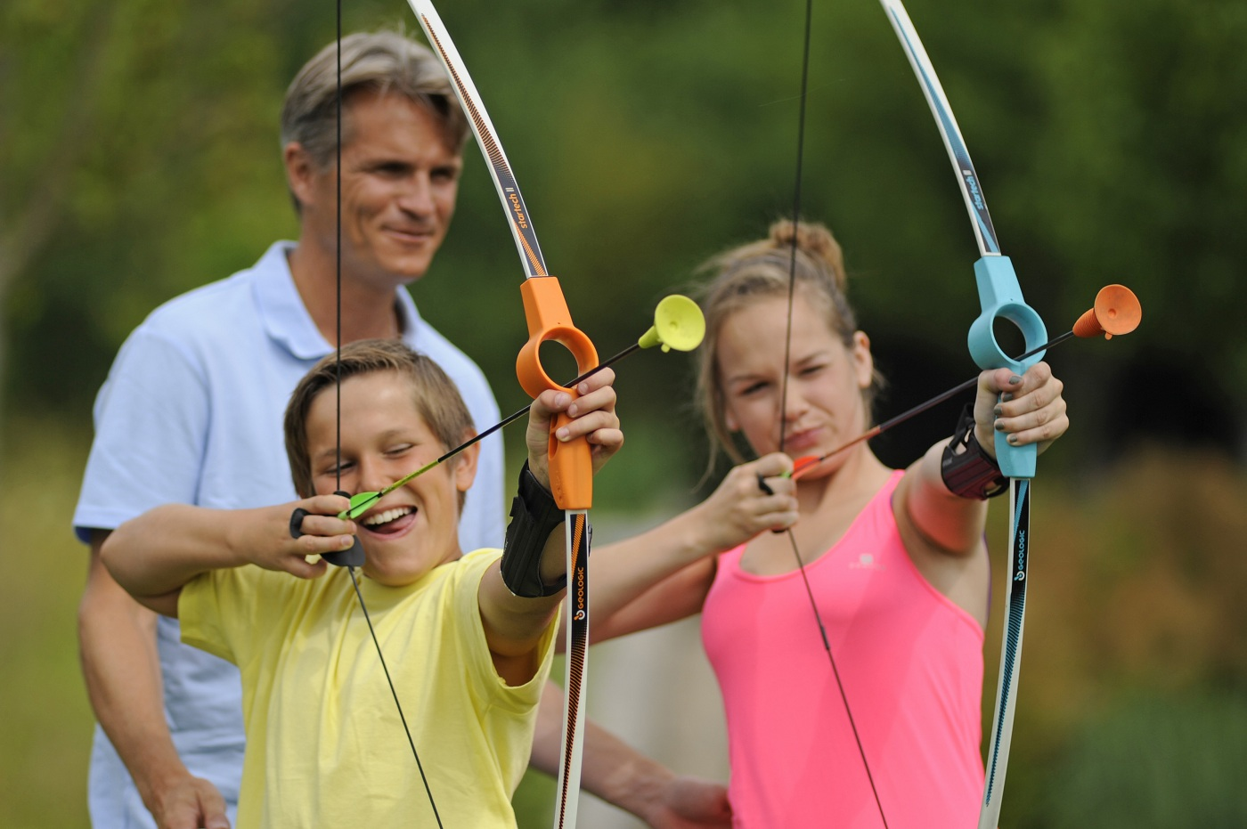 725cd5dd5 ... Decathlon children s toy bow and arrow Entertainment sucker bow for  young archery enthusiast GEOLOGIC