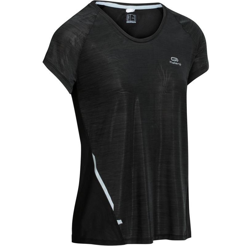 Спортивная футболка Десятиборье спортивные T-рубашка женщины быстро сухой с коротким рукавом новый свободный тонкий бег фитнес жилет быстросохнущая бегв