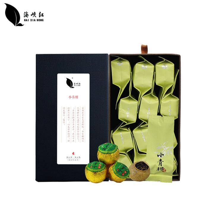 【海峡红】小青柑茶礼盒装12颗/盒*2盒