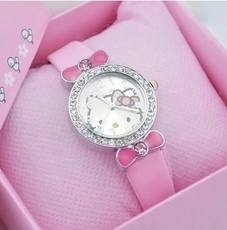 Waterproof Korean version of the cute quartz female watch children's watch princess girl new girl cartoon table student electricity.