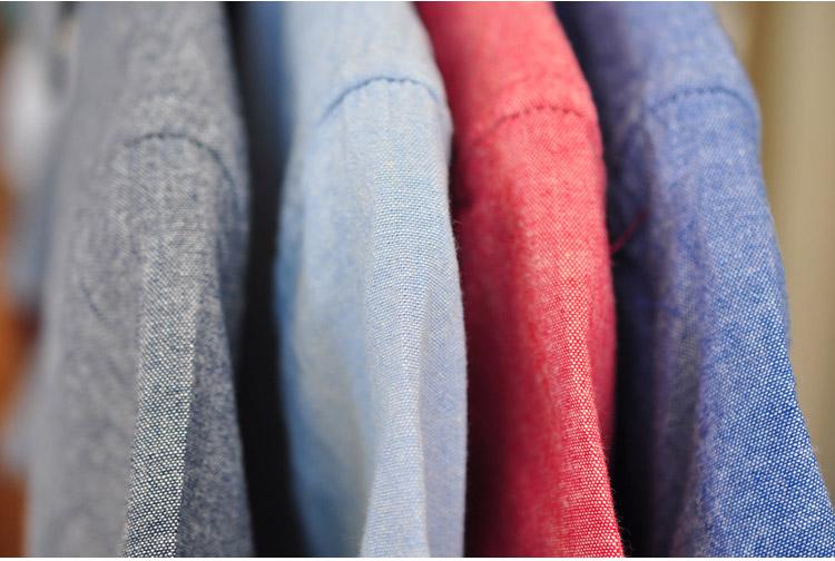 Sauce Summer men's shirt cotton short-sleeved shirt men's casual shirt men's slimmed-down Oxford spinning shirt 63 Online shopping Bangladesh