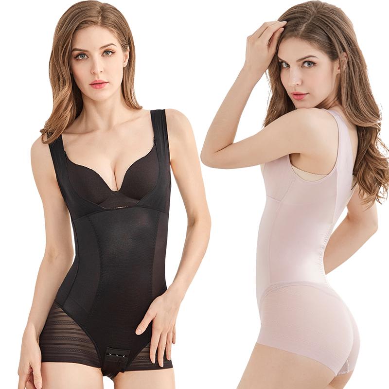 无痕收腹束腰提臀燃脂瘦身连体塑身美体内衣服产后塑形女薄款正品