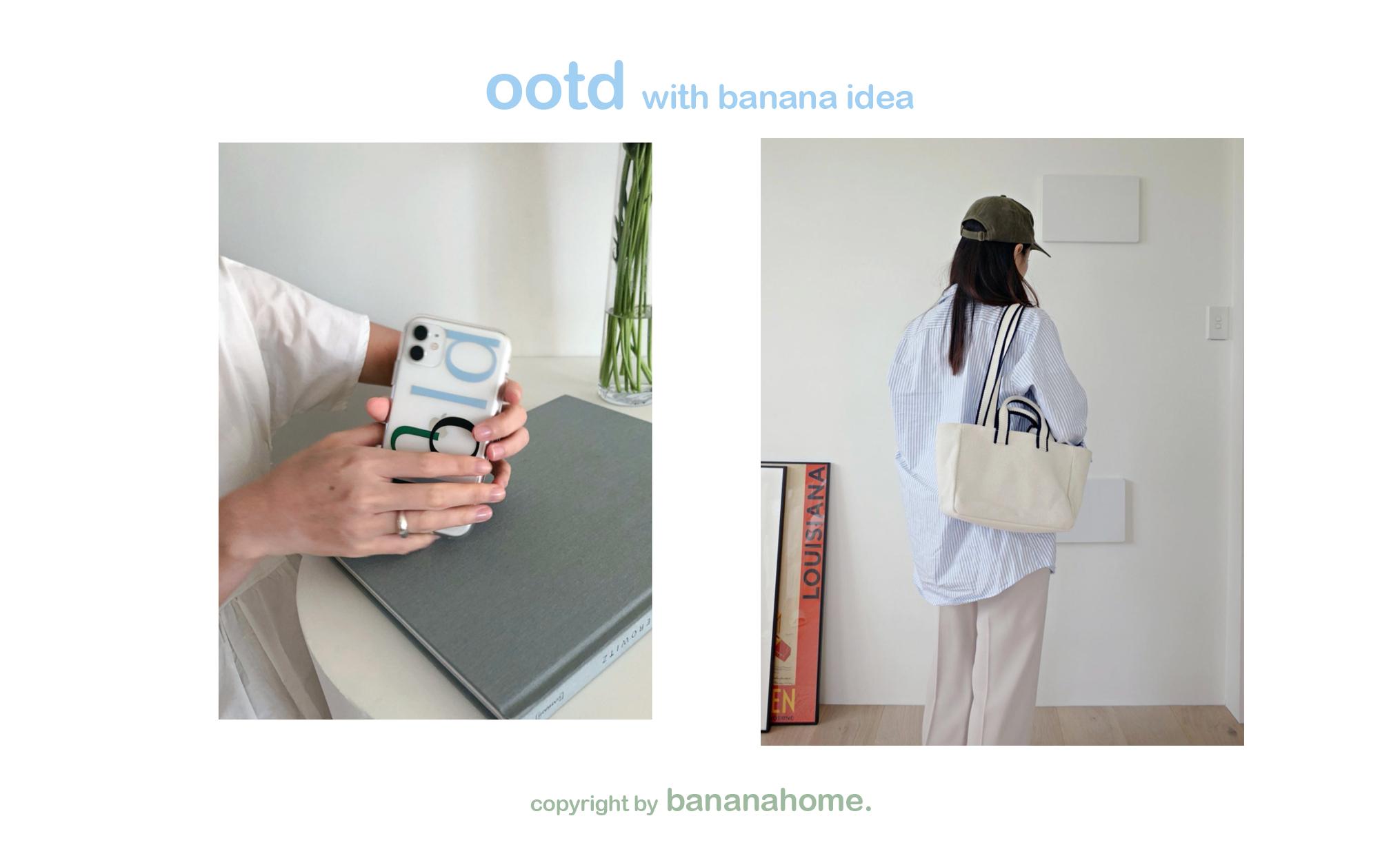 W哎咪手機配件~香蕉樹研究所韓國ins風unfold手機殼簡約清新xsmax11promax12華為