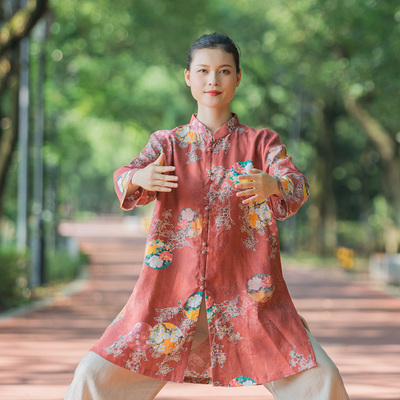 Tai chi clothing chinese kung fu uniforms Chinese style in spring and Autumn