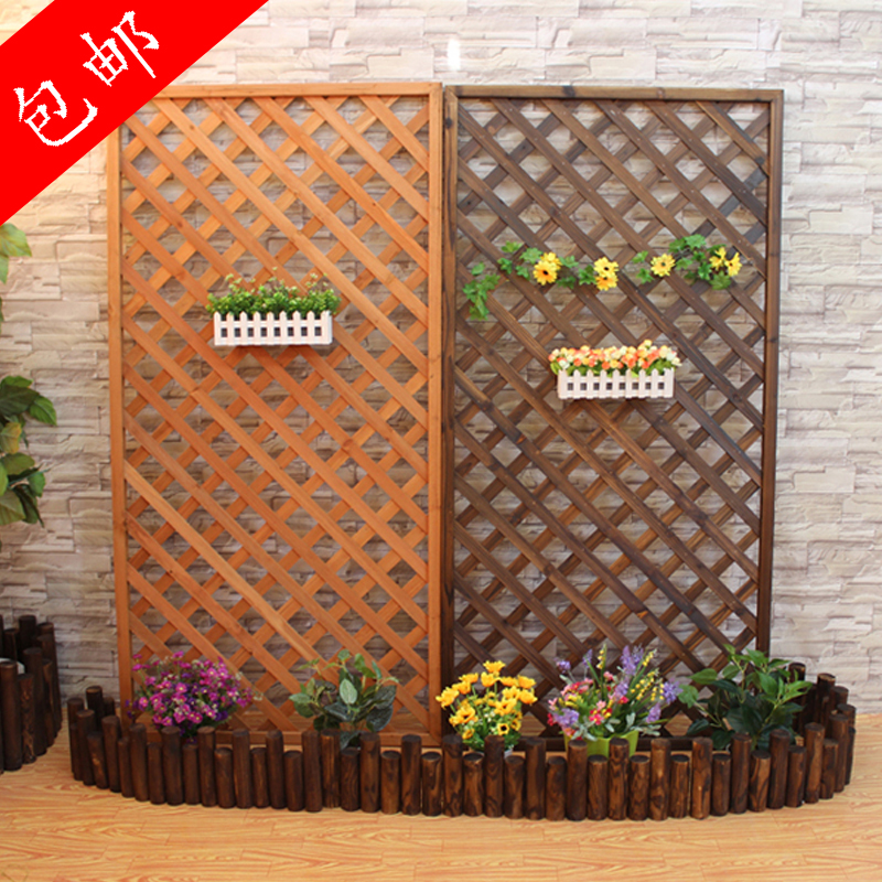 Anticorrosive Wood Mesh Parion Fence Garden