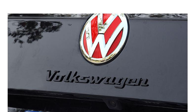 Chữ dán  trang trí xe Volkswagen Tiguan - ảnh 6