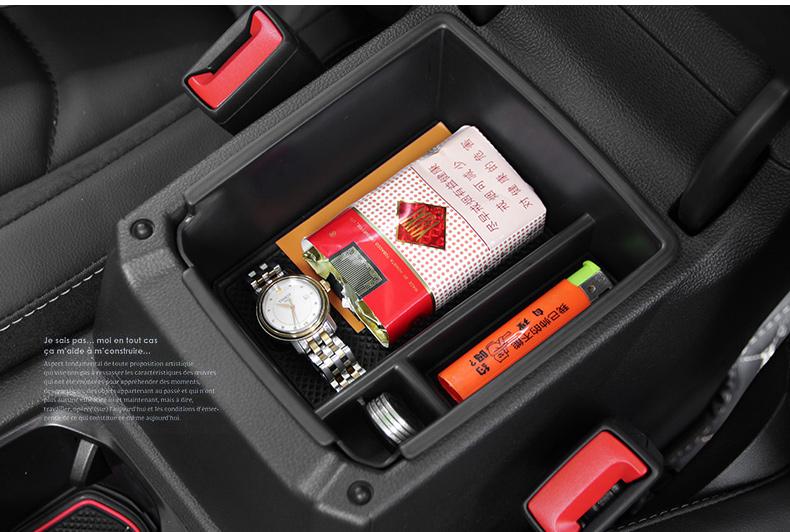 Khay đựng đồ tiện ích dưới bệ tỳ tay xe Volkswagen Tiguan 2019-2020 - ảnh 12