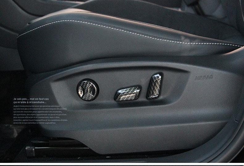 Ốp trang trí núm điều chỉnh ghê Volkswagen Tiguan 17-19 - ảnh 8
