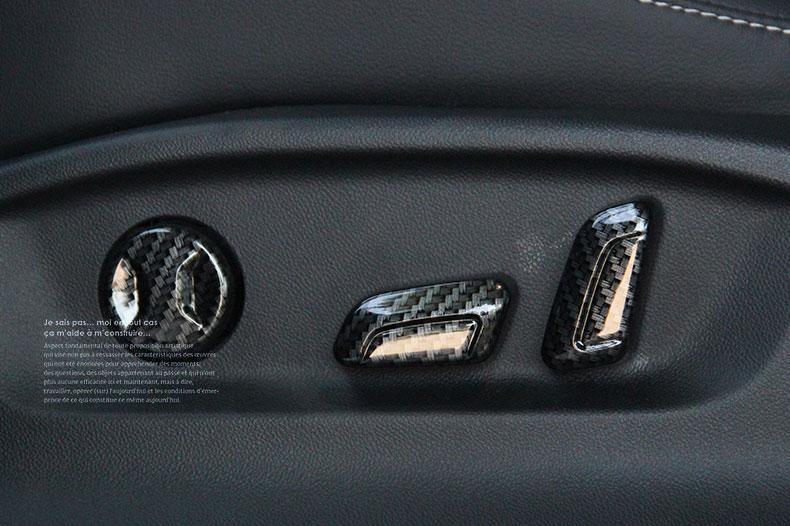 Ốp trang trí núm điều chỉnh ghê Volkswagen Tiguan 17-19 - ảnh 12