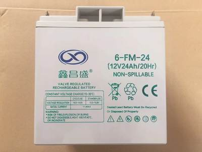 Xin Changsheng 12V24AH battery machine room UPS emergency battery backup valve control 6-FM-24 special offer