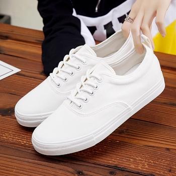老北京布鞋厚底内增高帆布鞋