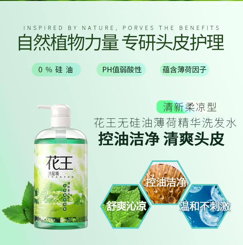 天猫国际 花王 天然茶树 去屑止痒控油洗发水 750ml*2件 0硅油 图1