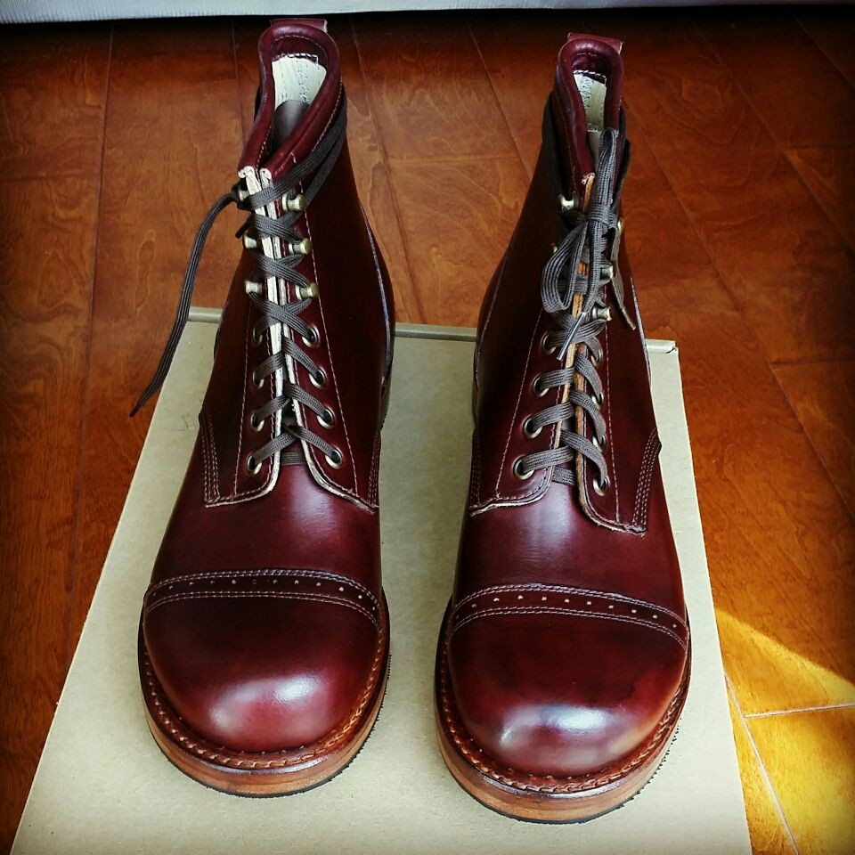 49bed47e5ee Julian boots upper body classic cherry red upgrade models