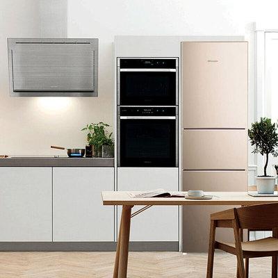 海信BCD-220D/Q电冰箱三开门冷藏冷冻节能宿舍小型特价家用租房用