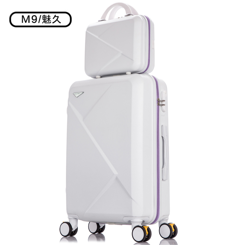 c5ee047c035d Luggage small fresh universal wheel suitcase travel case 20 Korean version  of the mother box men and women tide 26 trolley case 24 inch