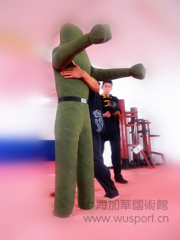 Ruaisen绿帆布消防训练假人 综合格斗技擒折假人 摔跤沙人 布袋人