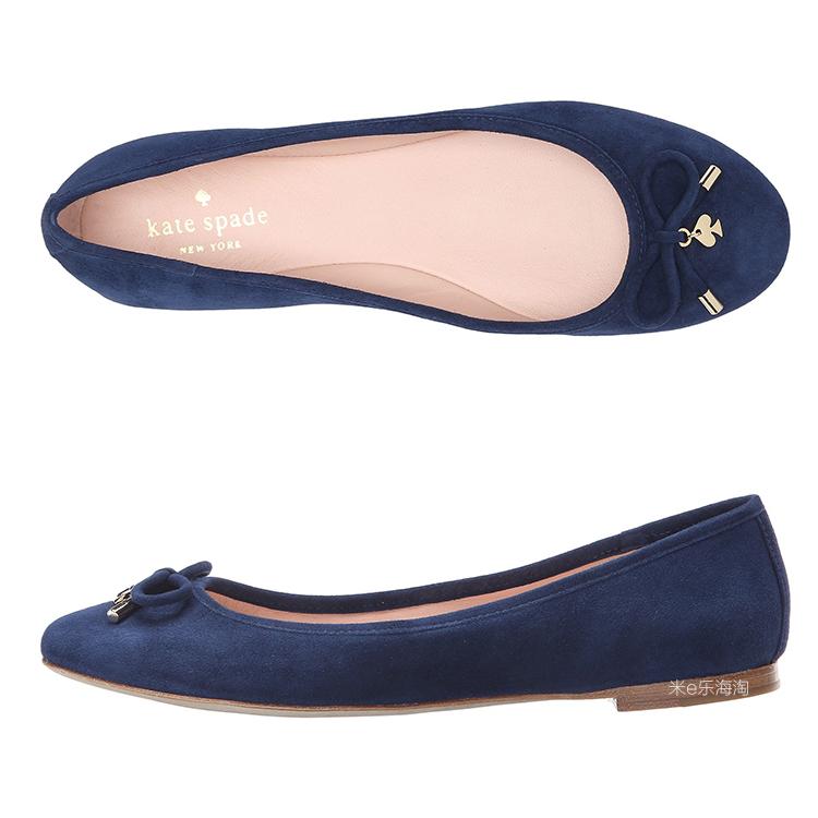 美国正品代购 Kate Spade New York 浅口平底鞋 舒适休闲鞋willa