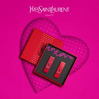 """На предпродаже YSL Saint Laurent принимает любовь в качестве макияжа 2 палочки """"квадратная трубка"""" 7 Ева ограниченная подарочная коробка квадратная труба 1 позитив красный"""