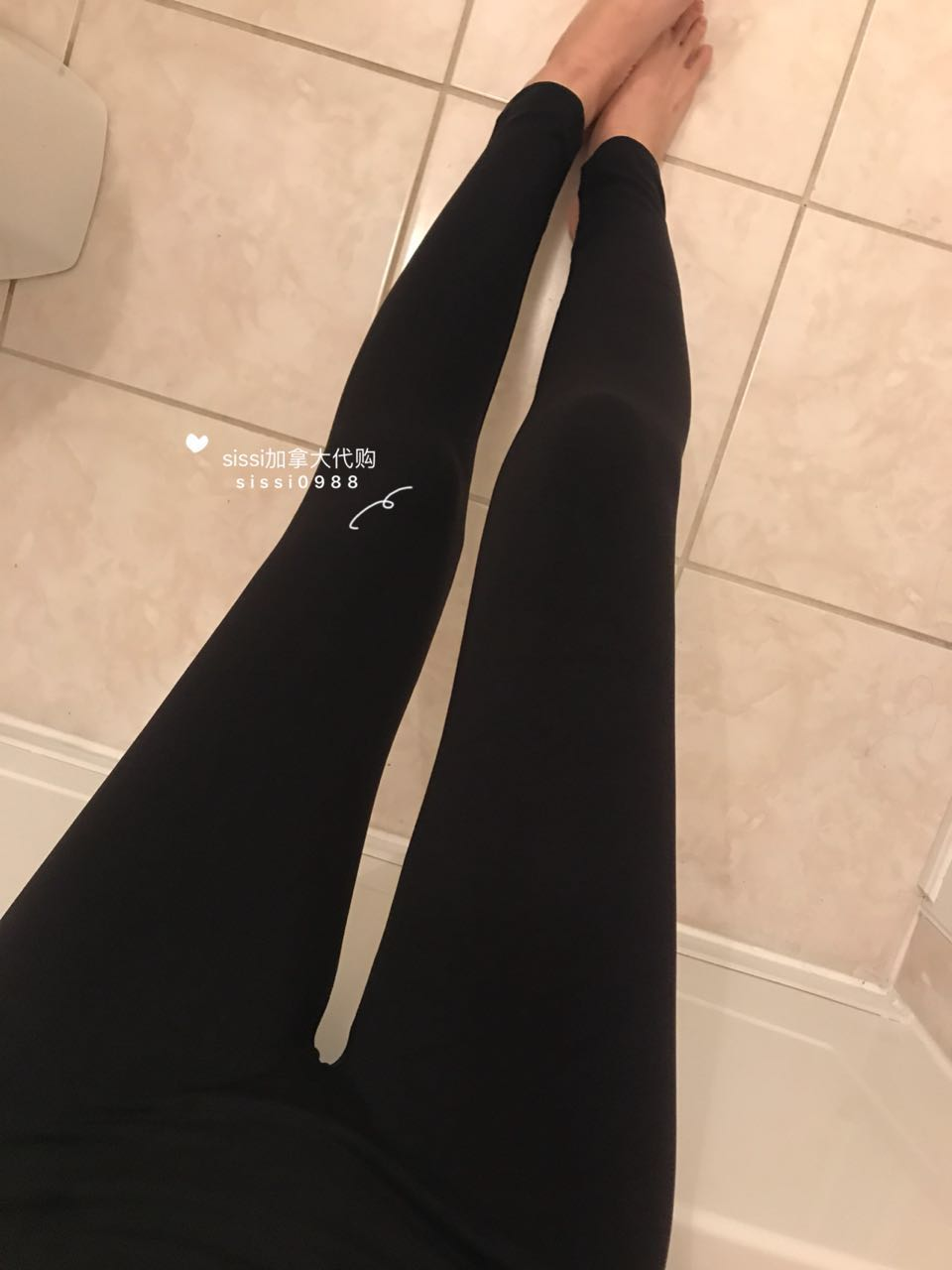 0710314a44c537 Canada CATHERINE MALANDRINO plus velvet leggings a pack of two Toronto  delivery