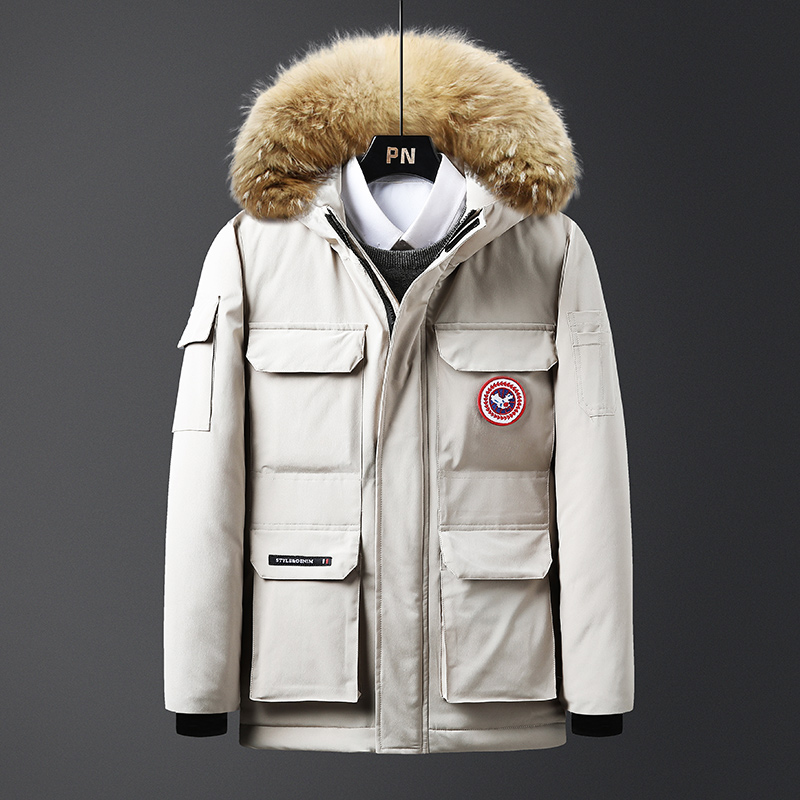 羽绒棉衣男士外套冬季棉衣加厚保暖宽松