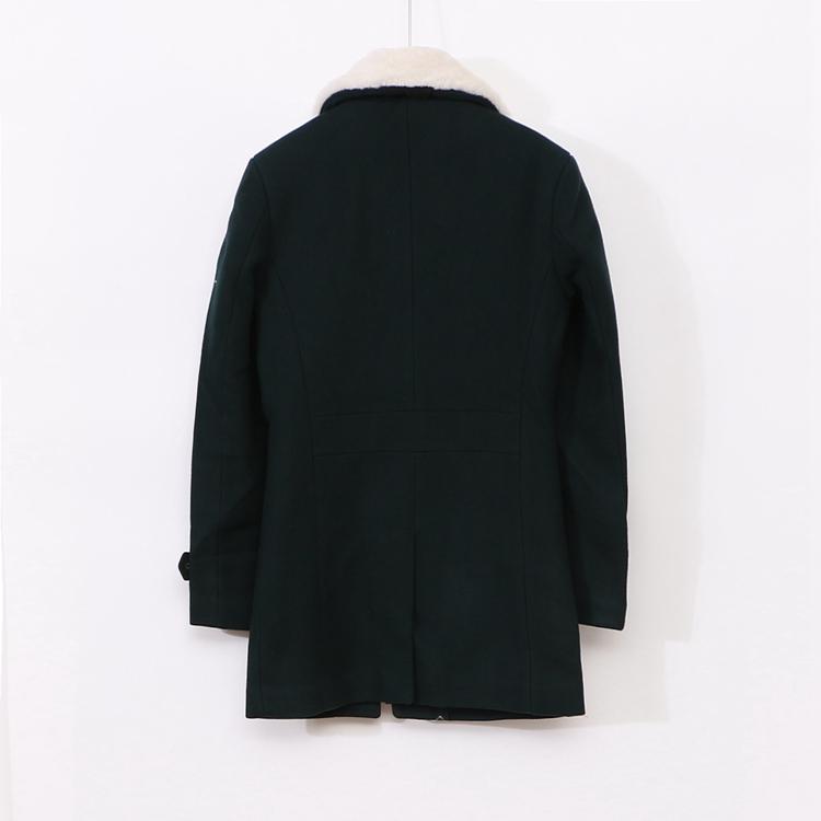 Mất 〖X〗 cao cấp triều thương hiệu giảm giá nam mùa đông dây kéo áo len lông cừu 3N150