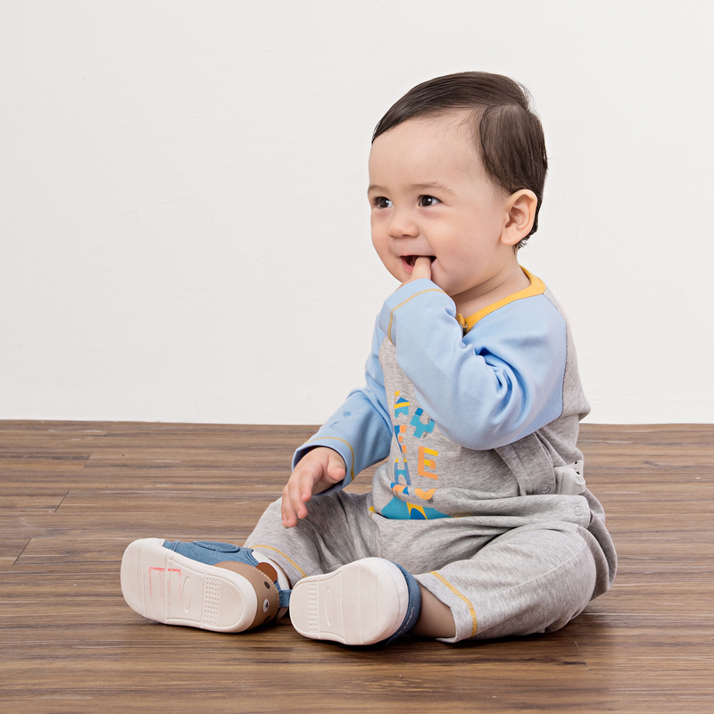 12b361fef British baby onesies spring and autumn men and women baby clothes one-piece  climax 173004