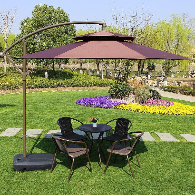 户外遮阳伞太阳伞院折叠伞雨伞室外摆摊露天