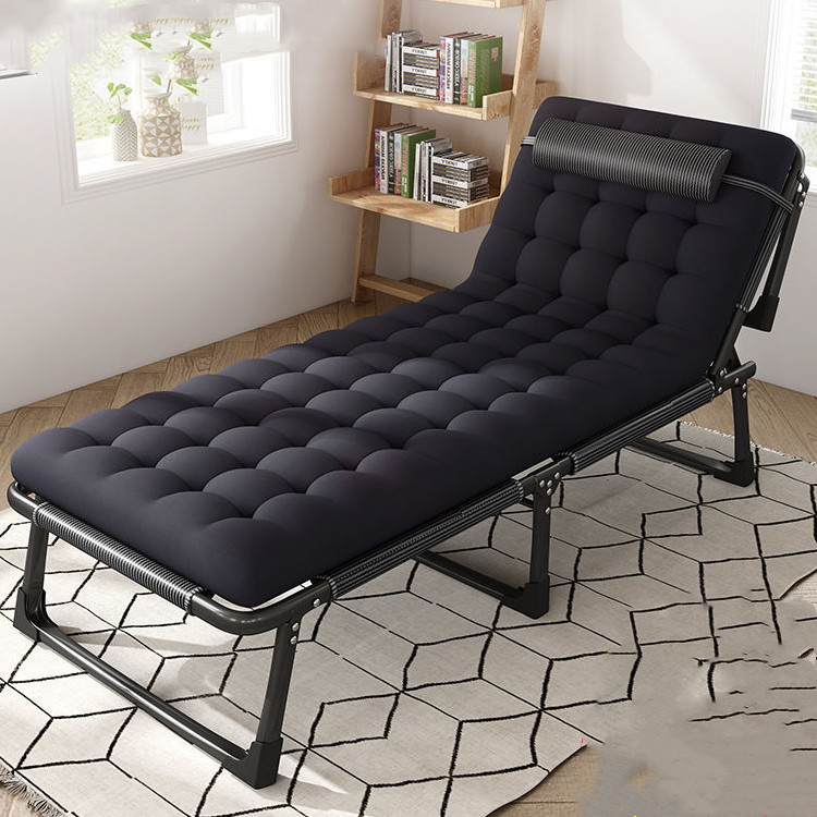 折叠床单人成人午休床躺椅折叠成人办公陪护简易加固行军家用床