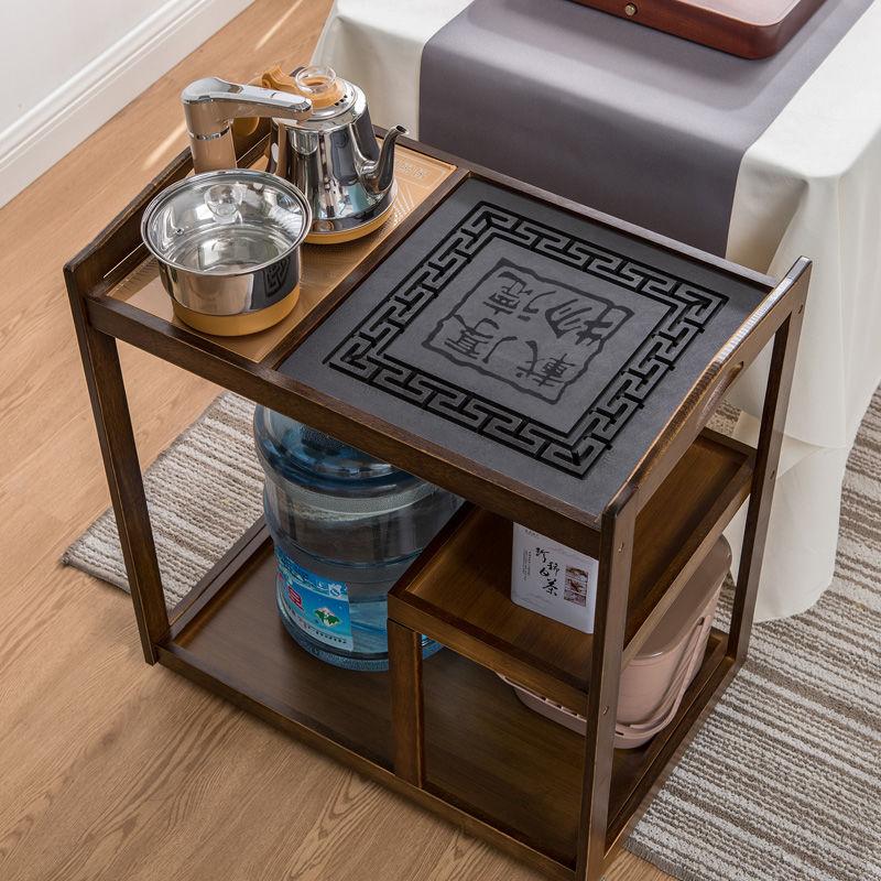 移动茶台茶车简约家用茶水柜小茶桌茶几全自动功夫茶具套装烧水
