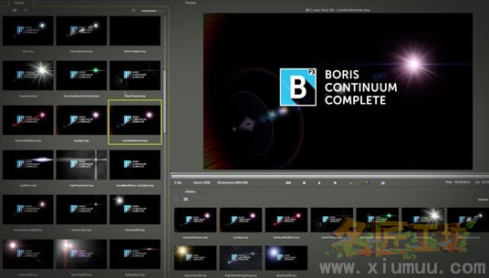 达芬奇插件/Vegas插件  视觉特效BCC插件包 Boris Continuum Complete 10.0.2 for DaVinci Resolve and Sony Vegas