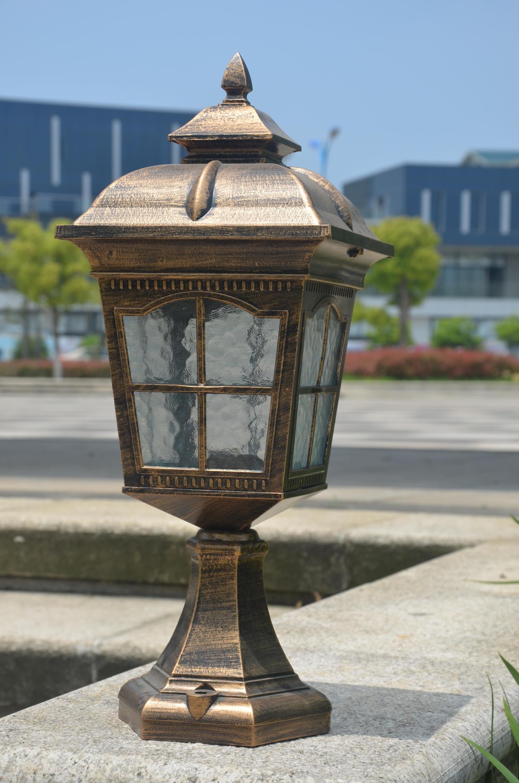 围墙灯柱头灯门柱灯_墙头灯柱头灯门柱灯图片