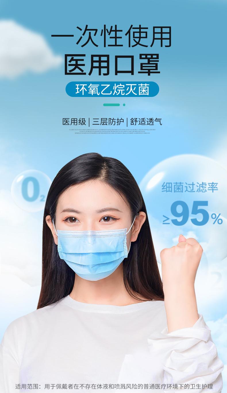 【阿里健康】50只医用灭菌口罩6